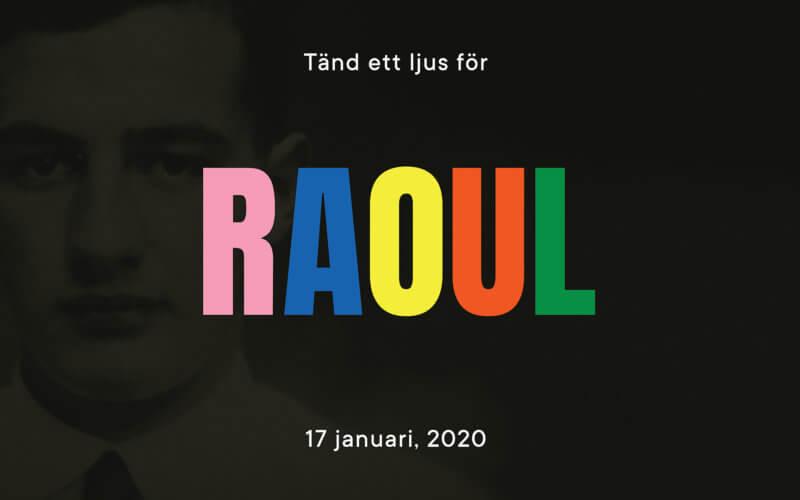 Ljus för Raoul Wallenberg