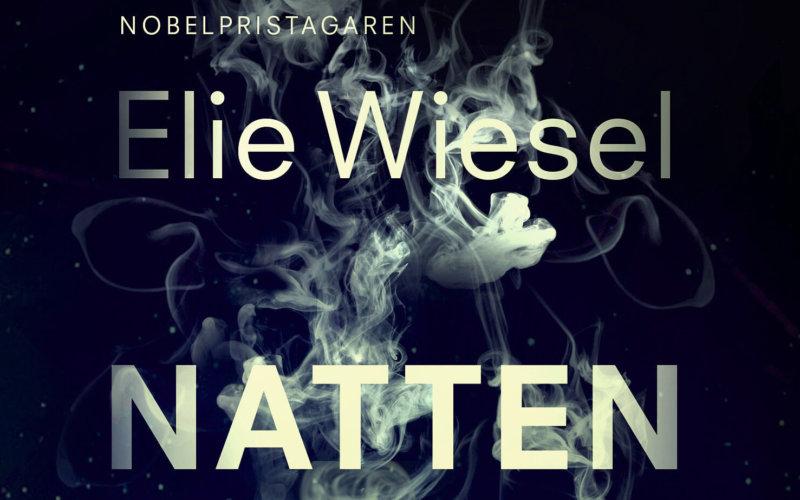 Framsidan på boken Natten av Elie Wiesel, lärarhandledning av Raoul Wallenberg Academy